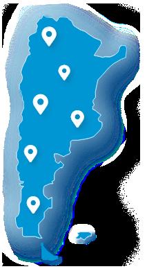 Mapa Nacional de acceso a nodos